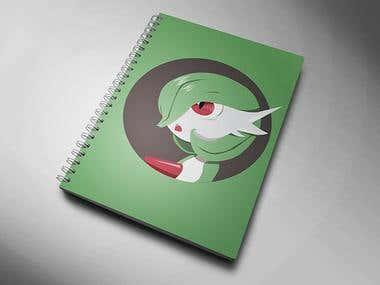 Gardevoir Notebook