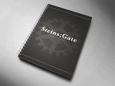 Steins Gate Notebook
