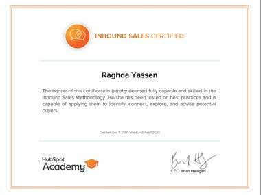 HubSpot Inbound Sales Certification