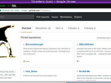 TitanHero , mi pagina de github.