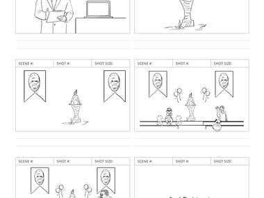 Storyboard for iinet