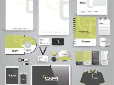 tokiwi branding