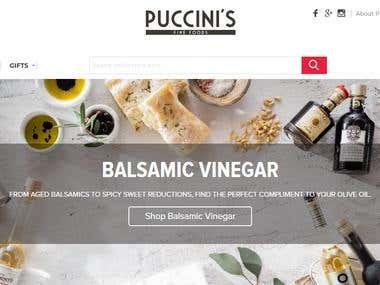 Puccinis Foods (Magento 2.1)