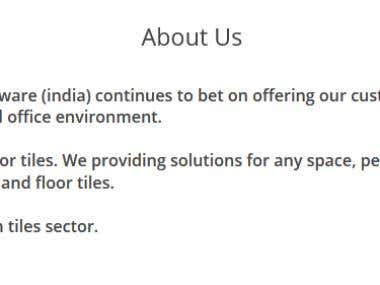 Ceramic Tiles Business Website