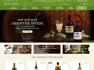 ABSINTHE (Shopify)