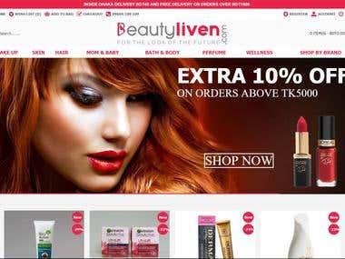 e-Commerce project (Laravel)