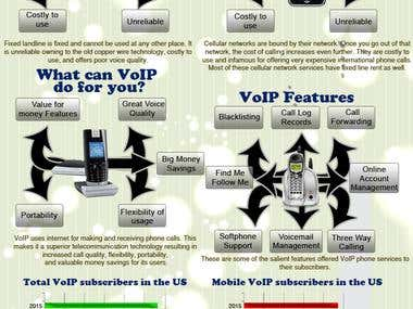 Infography for USA Telecom Company