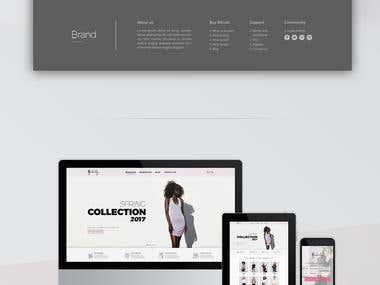 Web design - Interface design - UI/UX