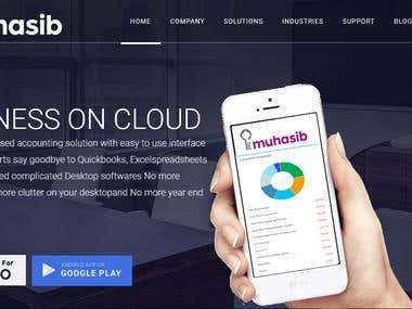 E-muhasib Website