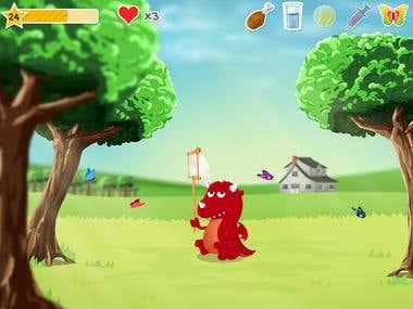 Game Graphic Interface, Game Desgin