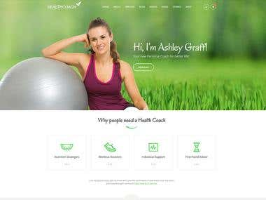 HealthCoach Website