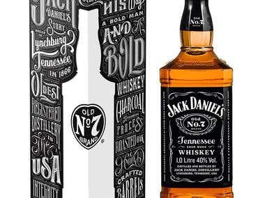 Jack Daniels packaging