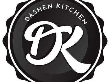 DK Logo (Dashen Kitchen)