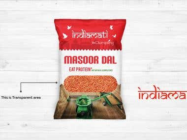 Package Design For Indiamati