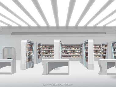 sci fi library