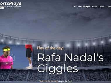 Sports Playa find sports players globally