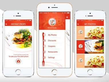 Food Ordering - iPhone