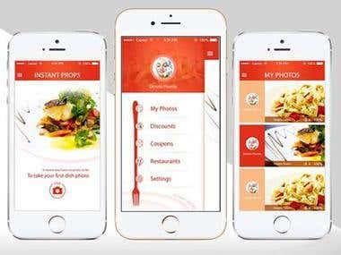 Food Ordering - iPhone