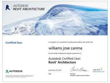 certificado de revit