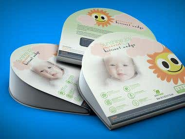 Packaging for baby pillow
