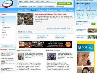 Optimum Online Website design