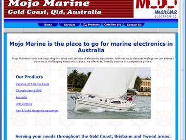 Mojo Marine website