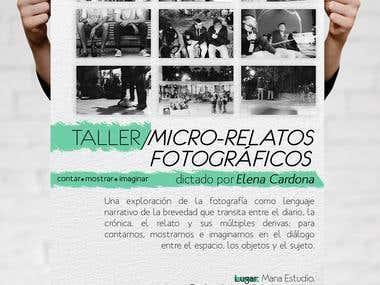 Flyer for photography workshop