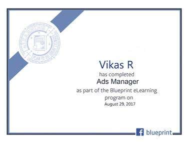 Facebook Ads Manager Certification