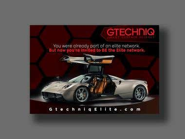 Professional flyer For Car Branding Company.