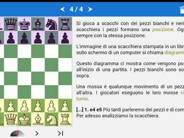 Translation ENG-->ITA - Chess App