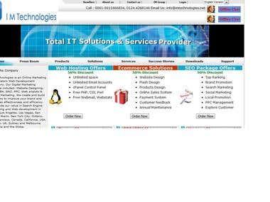 Web Hosting, Web Designing company