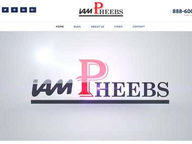 """iampheebs – Influencer "" – Blog Custom Website Design!"