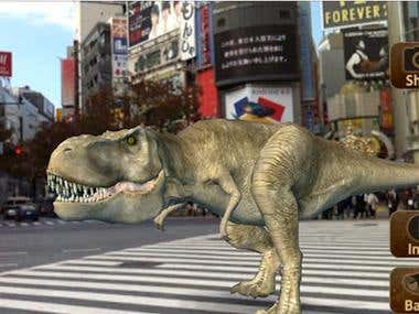 AR-dinosor (Augmented Reality)