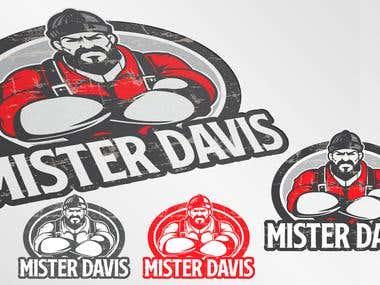 Mister Davis Logo