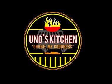 UNO'S logo design