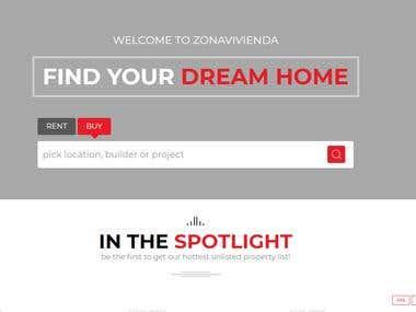 Real Estate Buy/Sell Website