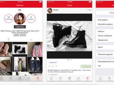 Fashion Ecommerce iOS/Android Application