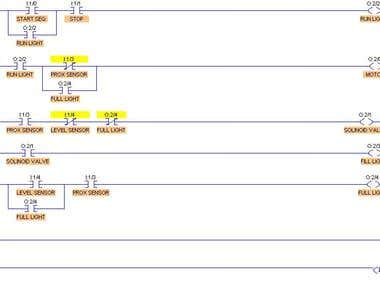PLC ladder Logic allen