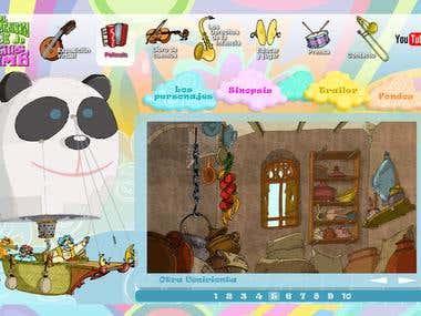 """Web de """"El extraordinario viaje de Lucius Dumb"""""""