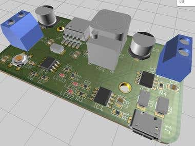 FAST CHARGE LI-ION BASED BOOST CONVERTER