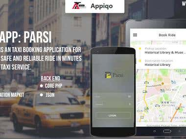 Parsi - Taxi Booking Application