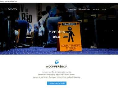 A web app to manage subscriptions for a conference site