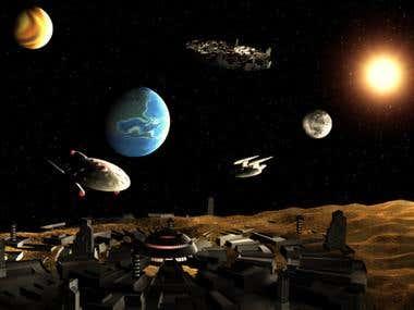 3D Space City