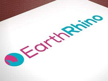 Logo for Earth Rhino