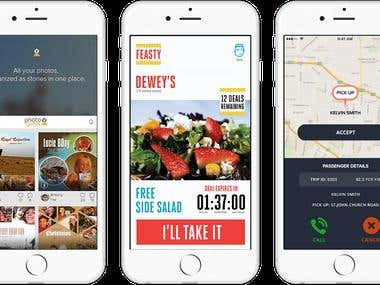 Feasty - Service Ordering and Delivery