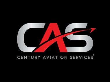 Century Aviation Services logo design