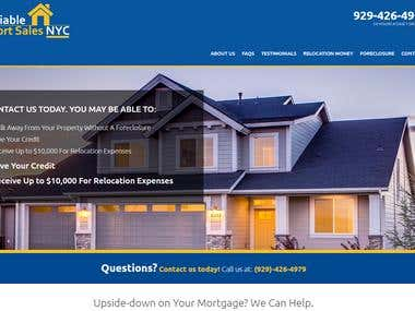 """Reliableshortsalesnyc – A Real Estate"" Agent Website"