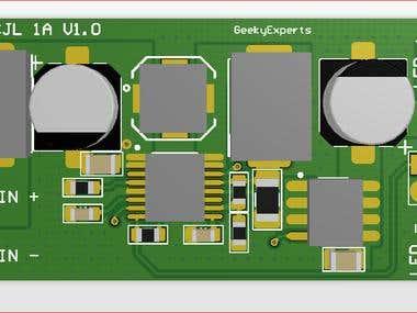 LED Driver Boost PCB