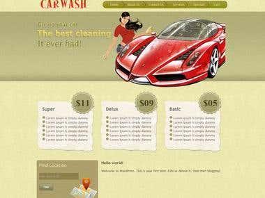 carwash site