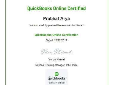 Quickbooks Proadvisor Certification